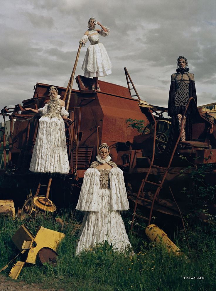 Made in Britain by Tim Walker for Vogue UK December 2013   Styled by Kate Phelan. Make-up by Sam Bryant and hair by Sam McKnight