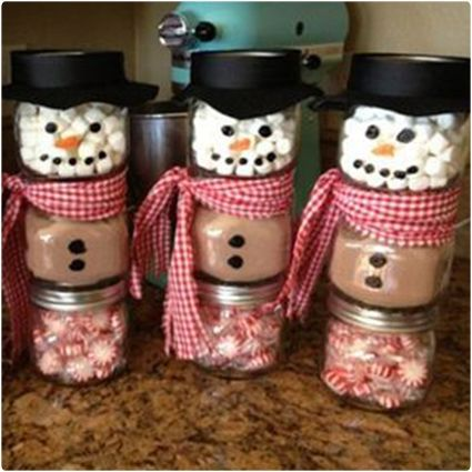"65 Amazing Homemade Christmas Gifts | Dodo Burd ""#giftsinajar Jar Gifts Gifts in a Jar """