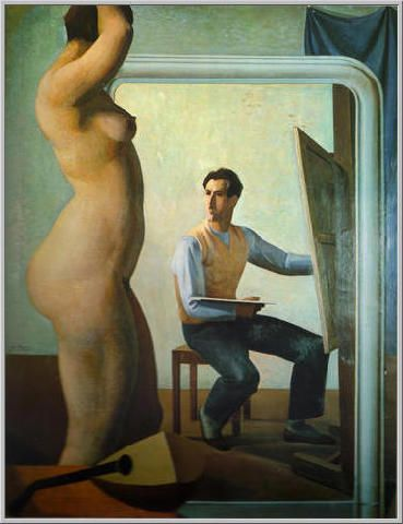 Mario Tozzi: 1928 L'Atelier