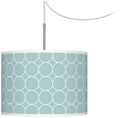 Swag Style Aqua Interlace Giclee Glow Mini Chandelier - #EUT6330-U1957 - Euro Style Lighting