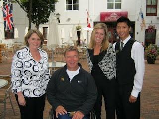 Rick Hanson visits Murray Premises Hotel.