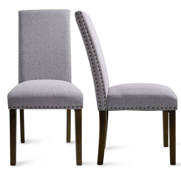 Artie Linen Upholstered Stacking Parsons Chair In 2021 Dining Room Chairs Upholstered Upholstered Dining Chairs Upholstered Chairs