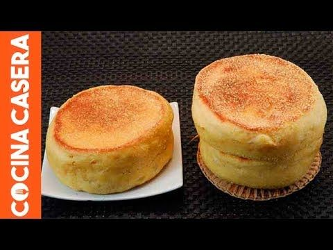 English muffins caseros - Recetas de Cocina Casera fáciles y sencillas - COCINA-CASERA.COM