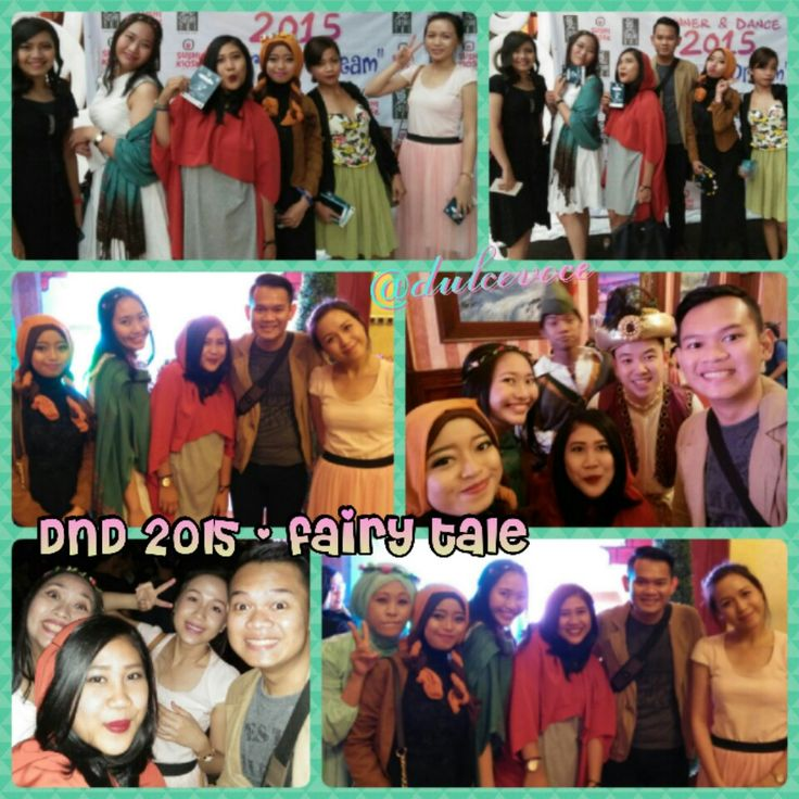 DnD 2015 - Fairy Tale #sushitei #anniversary