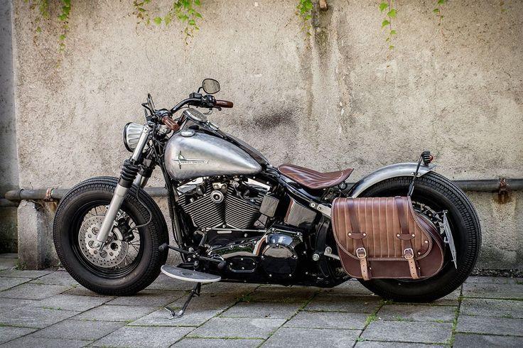 Harley Bobber Fux 2 #harleydavidsonfatboylow #harleydavidsonchoppersvintage