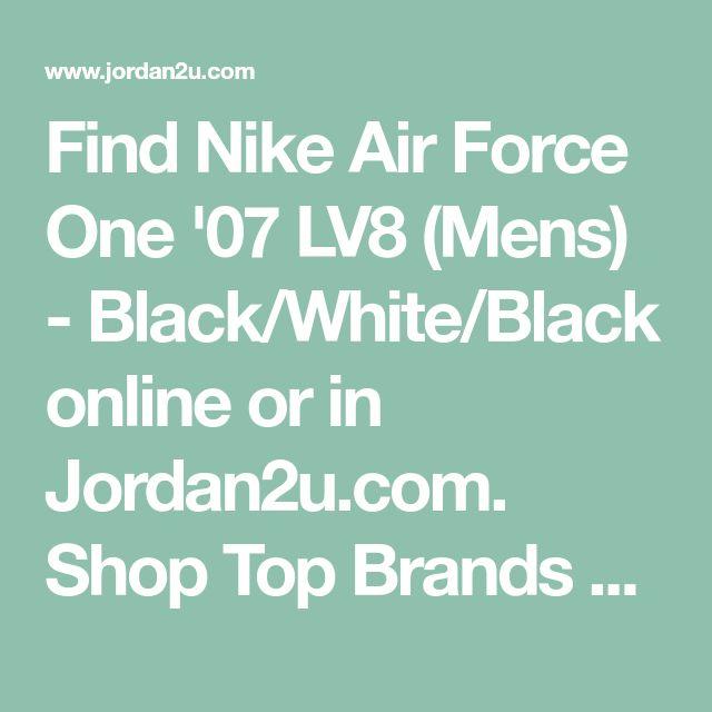 Find Nike Air Force One '07 LV8 (Mens) - Black/White/Black online or in Jordan2u.com. Shop Top Brands and the latest styles Nike Air Force One '07 LV8 (Mens) - Black/White/Black of at Jordan2u.com.