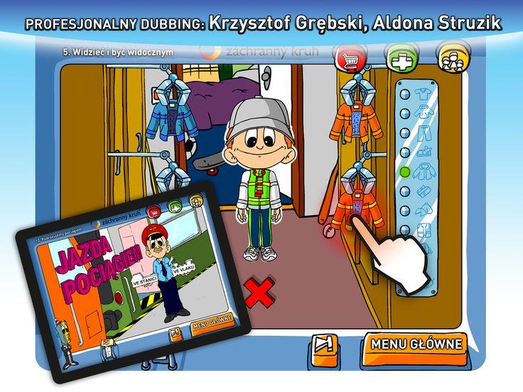 Profesjonalny dubbing: Krzysztof Grębski, Aldona Struzik