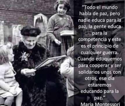 Comuna Mujer - Maria Montessori