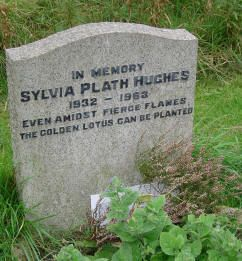 """Strange quote for a woman who died after sticking her her in the oven.       The grave reads: """"Even Amidst Fierce Flames The Golden Lotus Can Be Planted""""."""