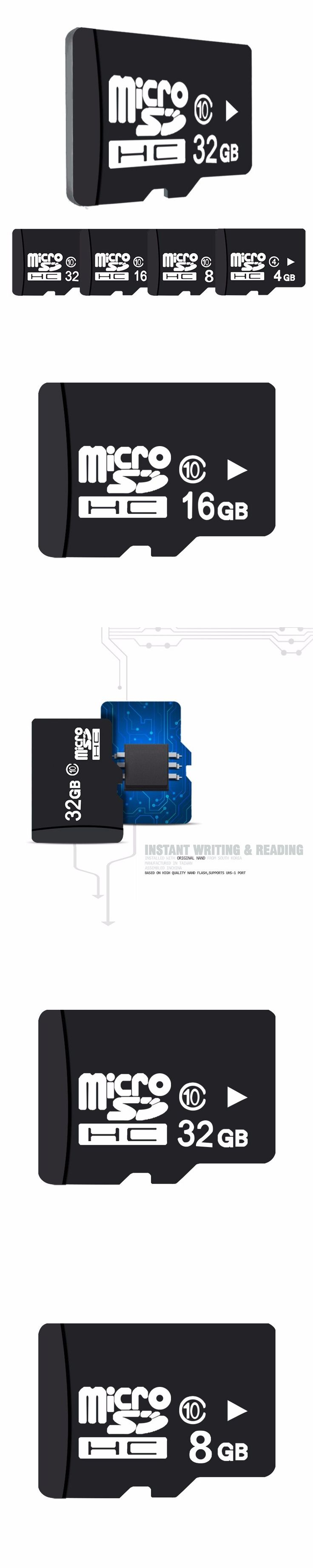 100% Real Capacity TF Card 32GB Promotion Memory Card 16GB Class 10 For Tablet Shellphone Micro SD Card  4GB 8GB class 6