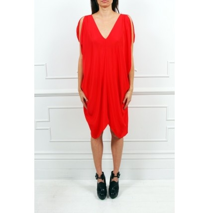 Mara Hoffman - Poncho Drape Dress