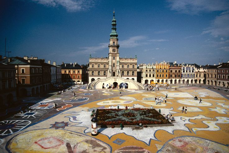 Zamosc city center - The Pearl of Renaissance (UNESCO World Heritage Site)