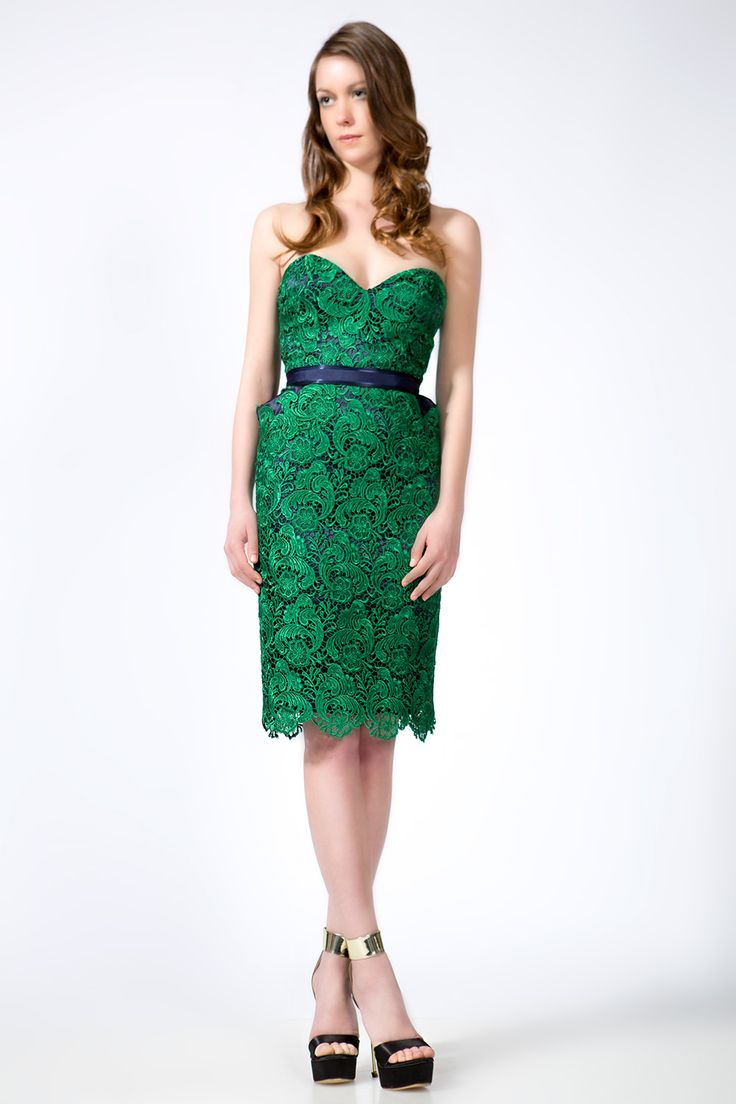 lace-green-cocktail-dress