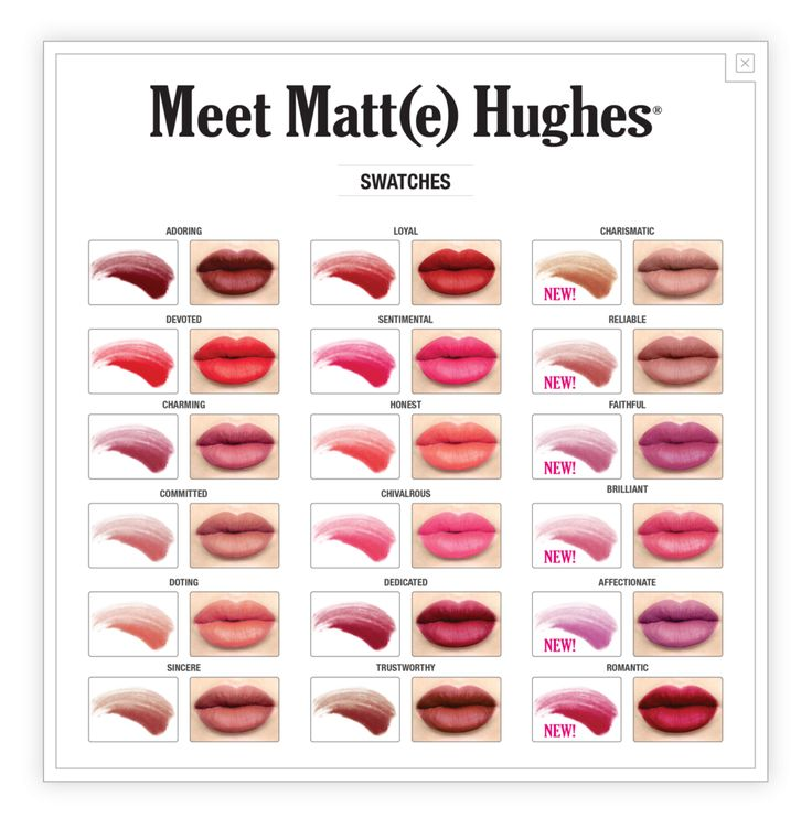 Introducing a truly loyal long-lasting liquid lipstick—Meet Matt(e) Hughes. With eighteen dreamy shades to choose from, you can take your pick from this hopeles