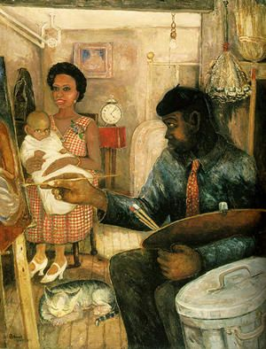 Harlem, New York became the capitol of cultural activity for African-Americans. This period in American history was extremely uplifting to African-Americans as a people. Personalities and individuals connected their expressions in writings, music, and visual artworks as they related to the political, social, and economic conditions of being black in America.