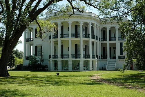 Nottaway Plantation, located near the town of White Castle, Louisiana