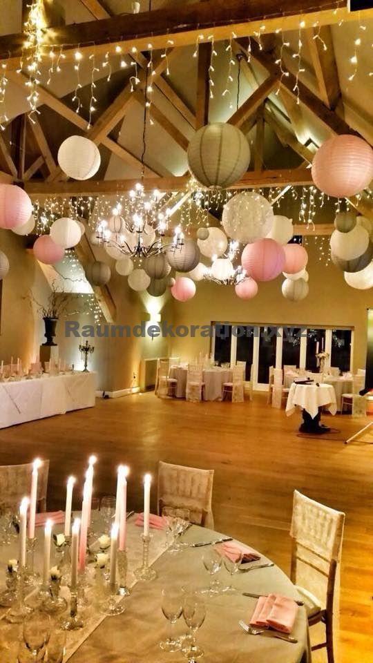 Tischdeko Hochzeit – Wir lieben diesen Vintage Glamour Hochzeitslaternen Look von House of Bunting, Gloucs