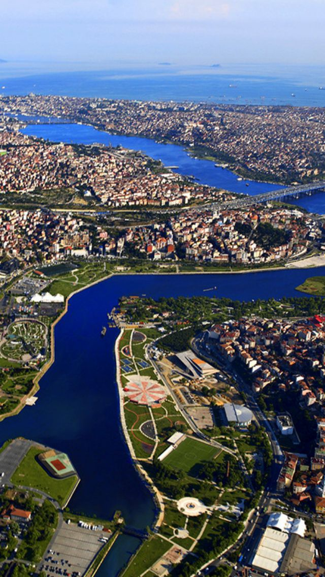 Golden Horn (Haliç) İstanbul, Türkiye