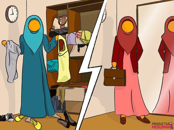 Top 5 Productive Muslimah Wardrobe Hacks - Productive Muslim