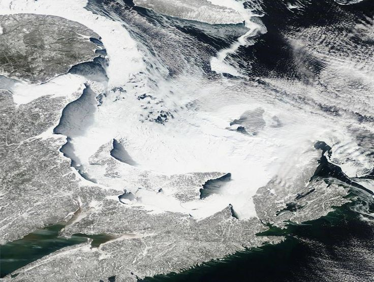 From CBC Meterologist Kalin Mitchell: 'Check out this high resolution satellite imagery from NASA. Look at that snow covered sea ice in the Gulf of St. Lawrence and Northumberland Strait. Plus enough snow on PEI to almost camouflage it.' CBC Prince Edward Island https://www.facebook.com/142551811174/photos/a.209416026174.140133.142551811174/10152595087996175/?type=1&theater
