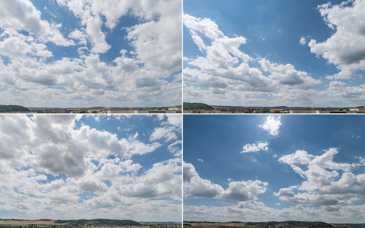 Cloudy Skies 01 Vol. 01 brings 16 photographs of cloudy skies.  Check out the previews to find out what photos are included.  All photos are taken with Full Frame Nikon D810 + Sigma 20mm f/1,4 DG HSM Art.  All photos include horizon for better positioning.  Resolution of photos: 36MPix; mostly 7360 x 4912 pix (some might be slightly cropped).