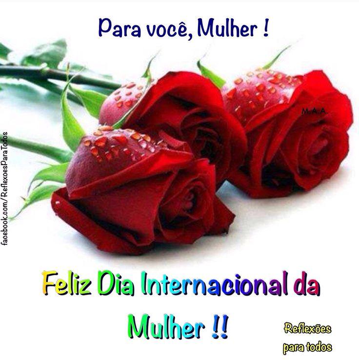 """Leia """"08 de Março - Dia Internacional da Mulher"""" (com outra imagem) - clique na imagem."""