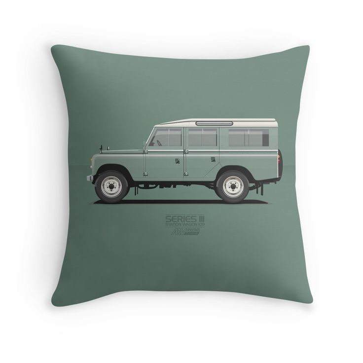 Series 3 Station Wagon 109 Light Green  #landrover #green #series3 #redbubble #vector #carart #vintage #classic #lwb # long #landrover109 #landroverseries #car #ARVwerks
