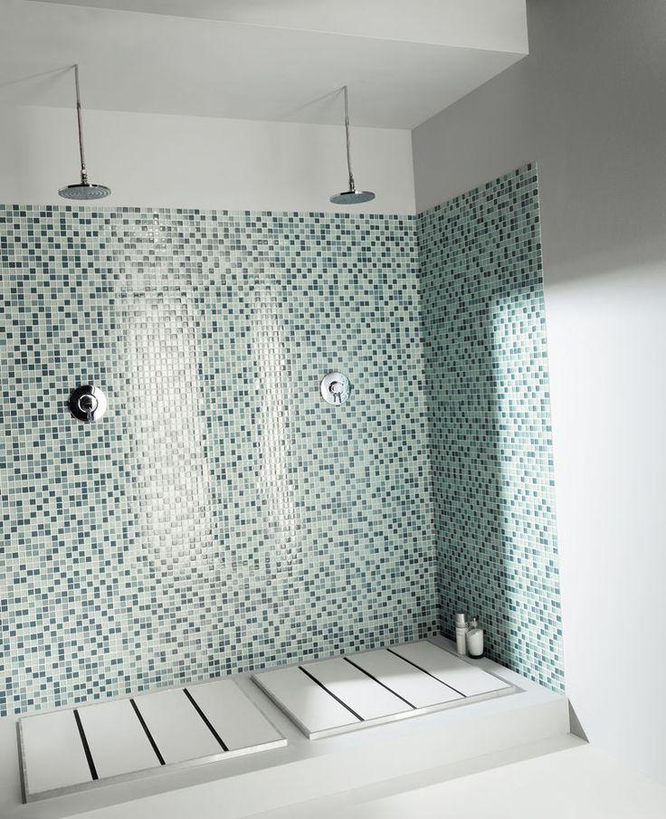 carrelage-mosaique-salle-de-bain : salle de bain ...