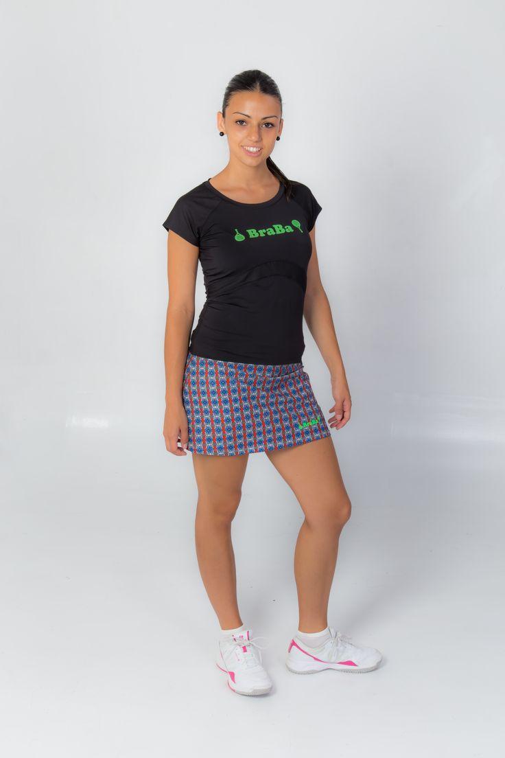 Falda Padel - Tenis Modelo Retro