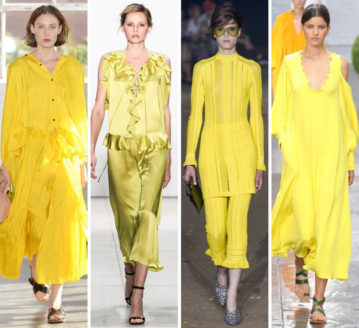 Image result for yellow trend spring 2017