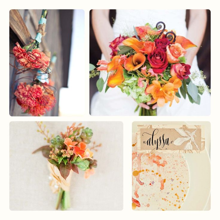 wedding themes for summer | Colour Palette - Orange Wedding Theme | WeddingDates Blog |
