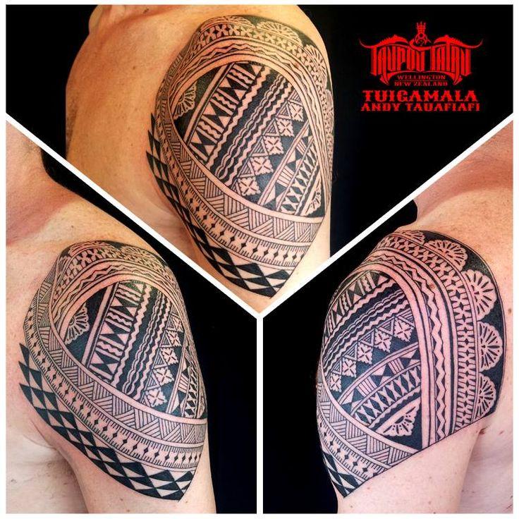 Fijian Masi Shoulder piece
