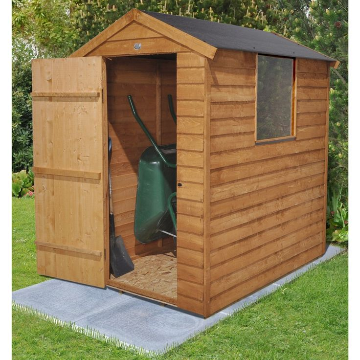 Keter Manor Plastic Shed 6x4