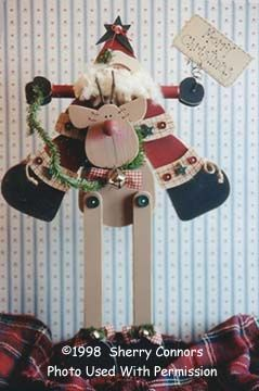 Christmas Rides-friends patterns, wood kits, wood crafts, wood parts, unfinished wood, wood, wood blanks, tole painting, decorative painting, Santa, Reindeer