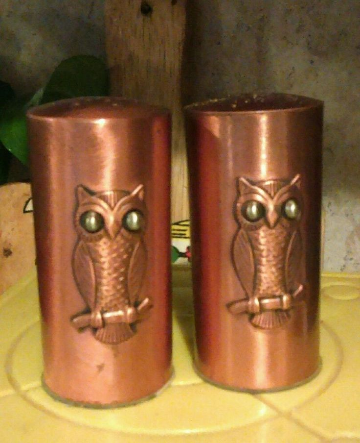 1000 images about s p on pinterest - Owl salt and pepper grinders ...