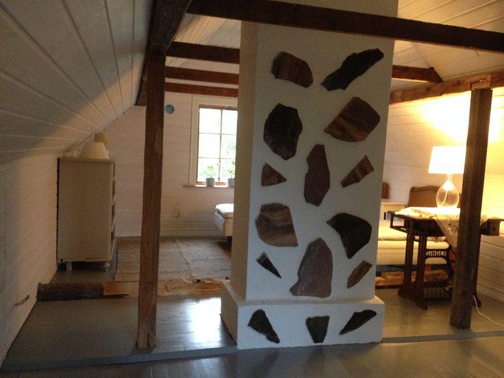 Finnish summer cottage interior.