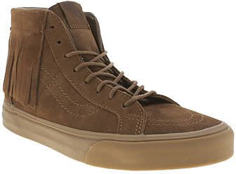 Womens khaki brown trainers / pump from Schuh - £70 at ClothingByColour.com
