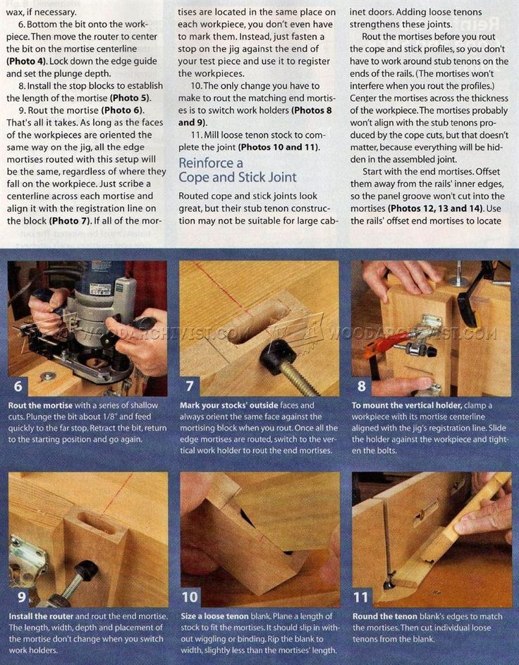 Loose Tenon Joinery - Joinery