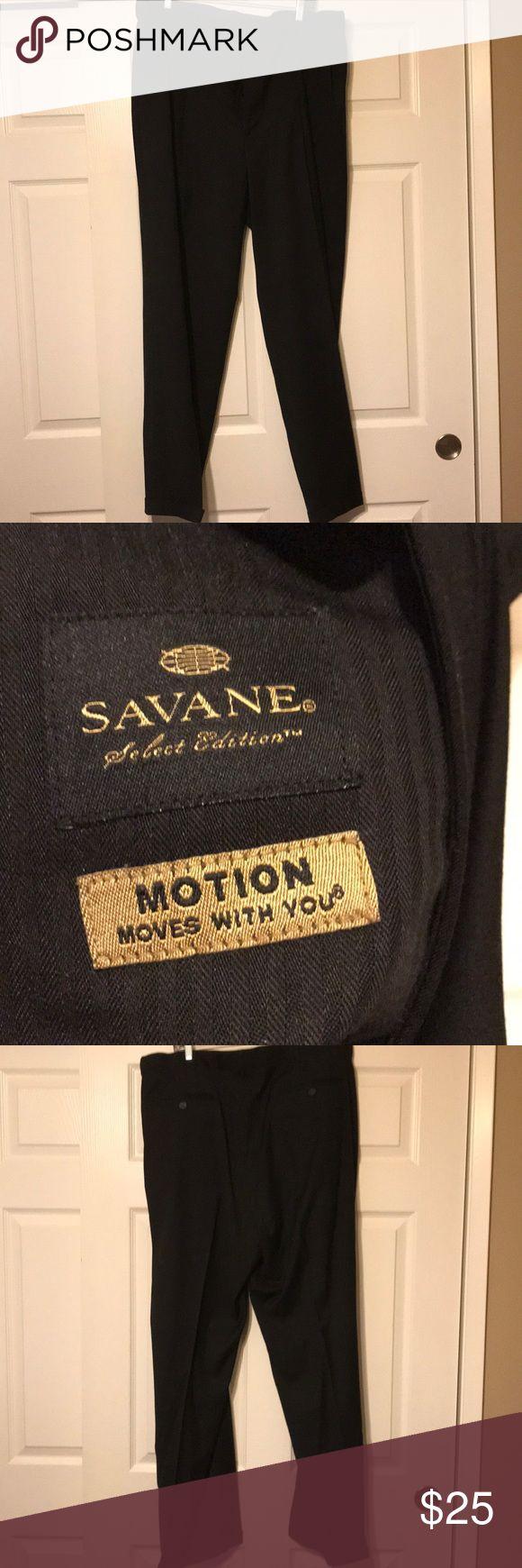 Savane slacks Savane select edition slacks. Pleated front   Hidden stretch waist band   Smoke free home   32 long Savane Pants Dress