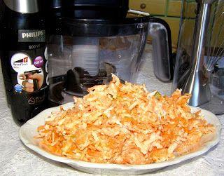 W Mojej Kuchni Lubię.. : pyszna włoszczyznowa surówka ze śmietaną...
