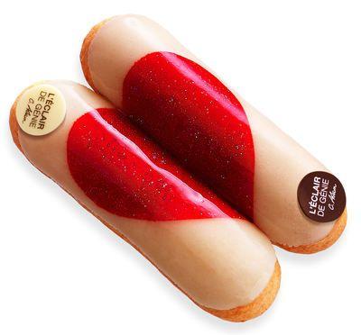 eclair saint-valentin de la boutique L'Eclair de Genie - Christophe Adam