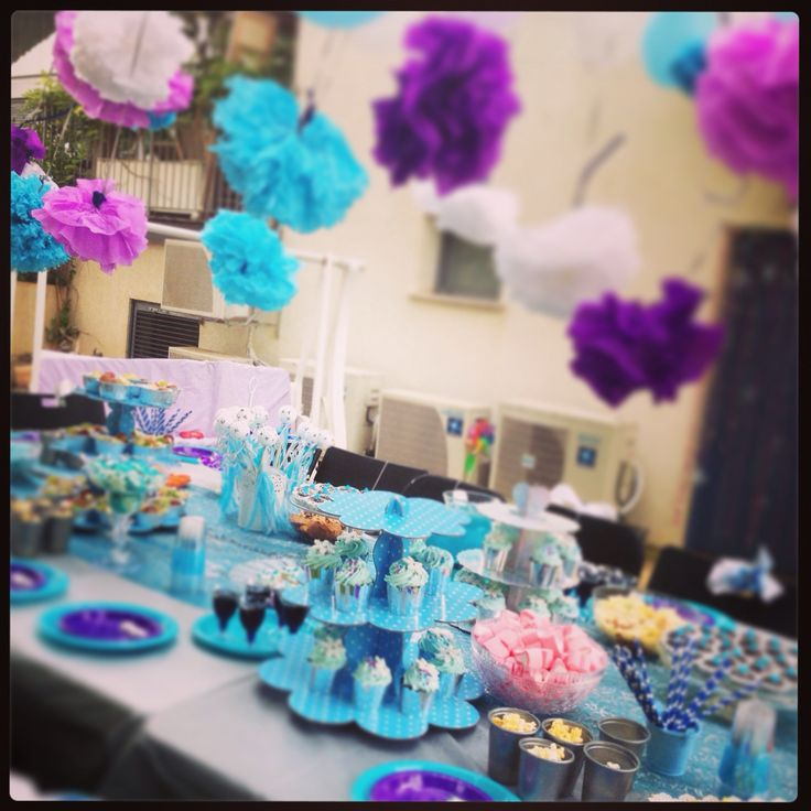 Party table outs side