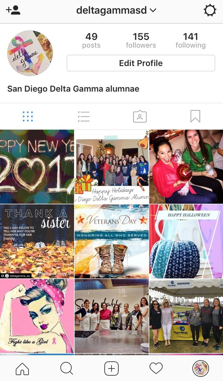 September 2015 - Present: Director of Public Relations for San Diego Delta Gamma alumnae. Actively runs social media (Instagram, Twitter and organizations Facebook) in order to shine a light on the alumnae's activities and community mission. Communicates with Executive Offices, local media, alumnae members, and other interested parties to correctly and positively display organizations goals within the organization and community.