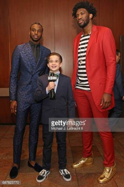 Image result for nba draft lottery kid reporter