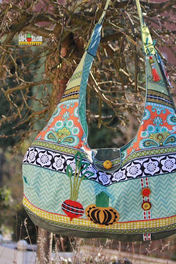 Lila-lotta.com / Nicht nur eine Tasche für den Strand ;)