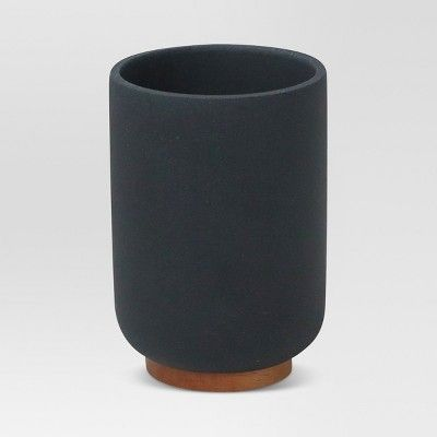 Resin Bathroom Tumbler Black - Project 62™ : Target