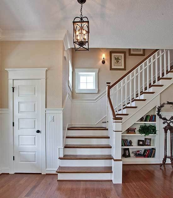 Best 25 Farmhouse Stairs Ideas On Pinterest: Best 25+ Craftsman Staircase Ideas On Pinterest