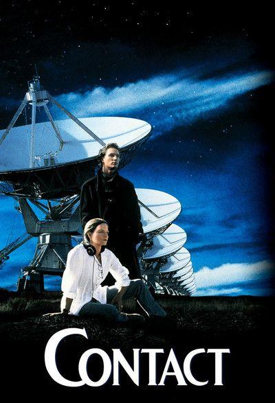 Contact Movie (1997) Cover Cast: Jodie Foster, James Woods, Matthew McConaughey, Angela Bassett, Jena Malone, David Morse, John Hurt,