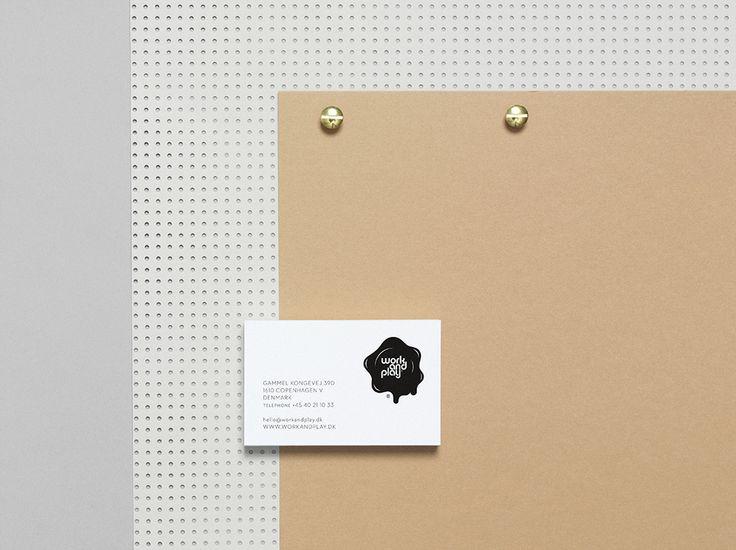 WORK & PLAY - Corporate ID #Branding #Fashion #Identity #Logo #Naming #Stationery