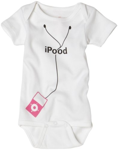 I'm so not a baby person, but if I had one, I would SO make it wear one of these!
